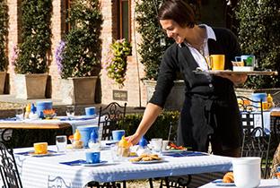 Villa Tiboldi prima colazione
