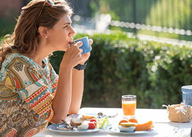 Villa Tiboldi colazione