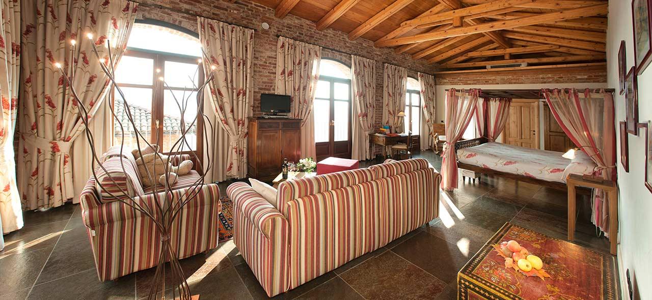 Tipologie camere Relais Villa TIboldi