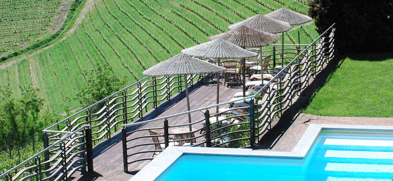 Relais Agriturismo Villa Tiboldi Canale Piscina